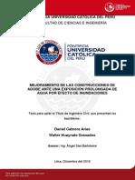 Cabrera Arias Daniel Construcciones Adobe Inundaciones