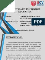 Maestria en Psicologia Educativa
