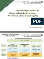 1. Vigilancia Epidemiológica Basada en Laboratoro de Epv (Pfa, Sarampión,Rubéola y Tosferina)
