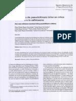 2 Casos de Pseudolitiasis Biliar en Niños Asociada a La Ceftriaxona