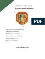 1 Informe de Hidrodestilación para la extracción de Aceite Esencial de Eucalipto