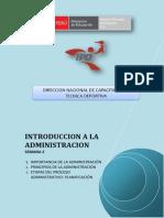Introduccion a La Administracion - Semana 2