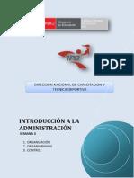 Introduccion a La Administracion - Semana 3_grupo_ii