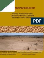 desertificacion del suelo