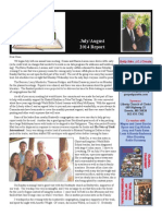 July/August, 2014 Report