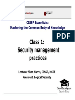 Domain1_Security Management Practices