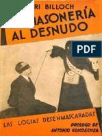 La Masoneria Al Desnudo