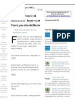 Banking _ Financial Awareness - Important Years You Should Know _ Gr8AmbitionZ