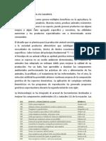 Biotecnología Aplicada a La Ganadería Monografia