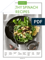 Healthy Spinach Recipes from EatingWell magazine