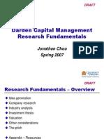 Stock Pitch - Fundamentals 2014