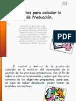 Herramientas Para Calcular La Capacidad de Produccion
