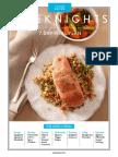 Clean Eating - 7 Dinner Meal Plan