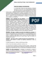 CONTRATO de Internet Herlinda - Empresa 2013