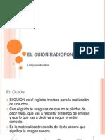 El Guion Radiofonico