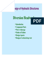 Diversion Headwork