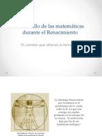 Desarrollo de Las Matemáticas