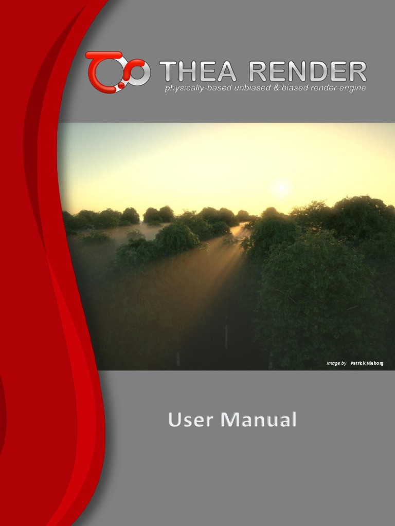 Thea Render Manual | Installation (Computer Programs) | Rendering