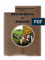Derecho Agrario y Ambiental 1
