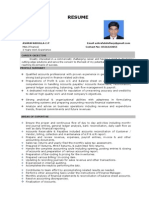Accountant CV