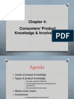 Ch 4 Product Knowledge & Involvemen
