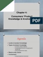 Ch 4 Product Knowledge & Involvemen