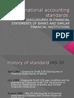 International Accounting Standards