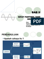 BAB 2 Sifat Partikel Dari Gelombang (Revisi)