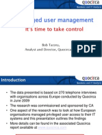 Privileged user management - It's time to take control