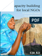 Capacity Building for Local NGOs a Guidance Manual for Good Practicex