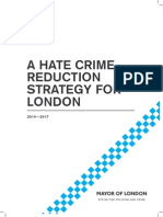MOPAC Hate Crime Reduction Strategy