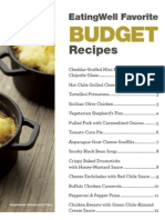 EatingWell Budget Dinners Cookbook