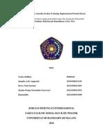 Pengaruh Kebijakan Amerika Serikat Terhadap Implementasi Protokol Kyoto
