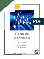 2013. Carta de Pensiones Area Militar