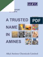 Alkyl Amines Annualreport