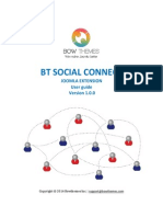 BT Social Connect Guide - Joomla