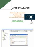 Verification and Validation CMMI