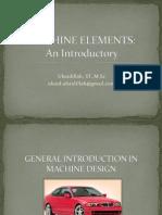 Machine Elements w2-w3