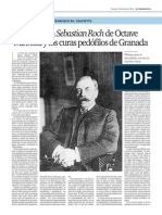 """Francisco Gil Craviotto,   « La novela """"Sébastien Roch"""", de Octave Mirbeau, y los curas pedófilos de Granada »"""