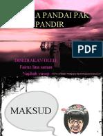 puisi tradisional f5-seloka pandai pak pandir
