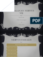 Perjalanan Nervus VII