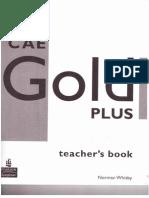 CAE Gold Teacher's Book