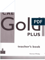 CAE Gold Teacher's Book