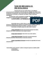 Mecanica. Cond. Ecologica