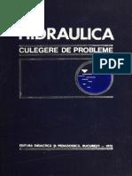 Hidraulica - Culegere de Probleme - D.cioc, E. Trofin, C. Iamandi, G.tatu Etc., 1973