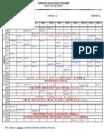 Drept an III if Sem2 2012-2013