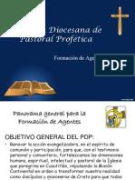 Comisión Diocesana Past. Profet. Form. Agentes