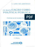 A Educação Como Politica Publica Janete M. Lins de Azevedo