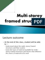 Multi-storey Framed Structures