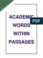 akademik kelimeler